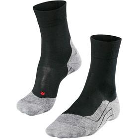 Falke RU4 Wool Calze Uomo, nero/grigio